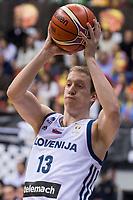 Slovenia Miha Lapornik during FIBA European Qualifiers to World Cup 2019 between Spain and Slovenia at Coliseum Burgos in Madrid, Spain. November 26, 2017. (ALTERPHOTOS/Borja B.Hojas) /NortePhoto NORTEPHOTOMEXICO