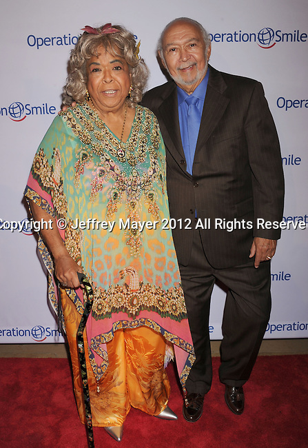 BEVERLY HILLS, CA - SEPTEMBER 28: Della Reese attends Operation Smile's 30th Anniversary Smile Gala - Arrivals at The Beverly Hilton Hotel on September 28, 2012 in Beverly Hills, California.