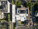 Columbus Museum of Art Margaret M Walter Wing Aerial Photography | DesignGroup