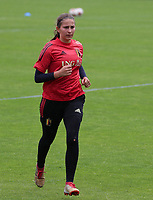 20200627 - TUBIZE , Belgium : Goal keeper Josephine Delvaux is pictured during a training session of the Belgian Red Flames U19, on the 27 th of June 2020 in Tubize.  PHOTO SEVIL OKTEM| SPORTPIX.BE