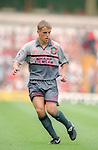 Phil Neville of Manchester Utd - Barclays Premier League - Aston Villa v Manchester Utd - Villa Park Stadium - Birmingham - England - 19th August 1995 - Picture Sportimage