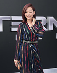 Jane Zhang, Zhang Liangying attends The Paramount Pictures L.A. Premiere of Terminator Genisys held at The DolbyTheatre  in Hollywood, California on June 28,2015                                                                               © 2015 Hollywood Press Agency