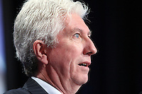 Gilles Duceppe talks at Steelworkers' convention at the Chateau Frontenac in Quebec City November 19, 2010. November 19, 2010.