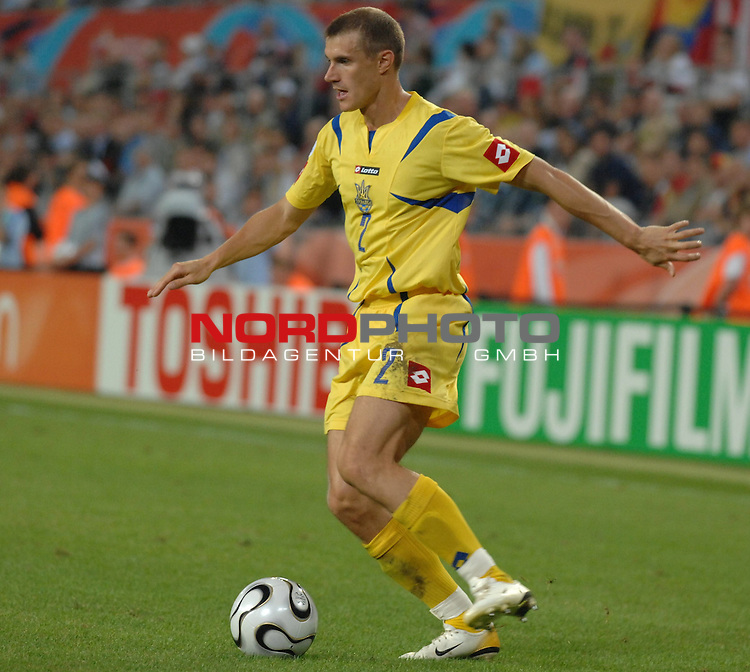 FIFA WM 2006 -  Round of Sixteen - / Viertelfinale <br /> Play    #54  (26. Juni ) Schweiz - Ukraine<br /> <br /> Andrij Nesmachnyi (UKR)<br /> <br /> Foto &copy; nordphoto