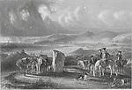 Engravings of Shanter Farm and Bay, Scotland artist David Octavius Hill