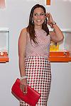 Tamara Falco poses during Folli Follie new shop opening in Madrid, Spain. April 29, 2014. (ALTERPHOTOS/Victor Blanco)