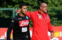 Maurizio Sarri  durante il  ritiro precampionato del SSC Napoli a Dimaro<br />  05 Luglio  2017