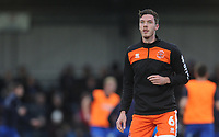 Blackpool's Ben Heneghan during the pre-match warm-up <br /> <br /> Photographer Kevin Barnes/CameraSport<br /> <br /> The EFL Sky Bet League One - AFC Wimbledon v Blackpool - Saturday 29th December 2018 - Kingsmeadow Stadium - London<br /> <br /> World Copyright &copy; 2018 CameraSport. All rights reserved. 43 Linden Ave. Countesthorpe. Leicester. England. LE8 5PG - Tel: +44 (0) 116 277 4147 - admin@camerasport.com - www.camerasport.com