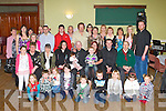 CHRISTENING: Proud parents Joe and Tracey Barrett, Old Marian Park, Tralee (seated 5th & 6th left) of little Hayley who was Christened in St John's Church, Tralee and celebrated afterwards with family and friends at Na Gaeil clubhouse on Saturday...