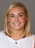STANFORD, CA - SEPTEMBER 28:  Joslyn Tinkle of the Stanford Cardinal women's basketball team poses for a headshot on September 28, 2009 in Stanford, California.