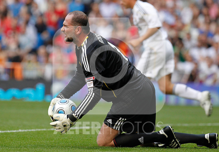 Madrid (30/05/10).- Estadio Santiago Bernabeu..Corazon Classic Match 2010.Real Madrid Veteranos 4- Milan Glorie 3.Sebastiano Rossi...Photo: Alex Cid-Fuentes/ ALFAQUI.