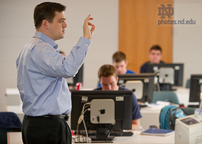 Apr. 5, 2012; David Campbell, political science..Photo by Matt Cashore/University of Notre Dame