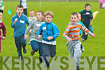 Jack O'Sullivan strides home to win the under eight 60 meters race at the Community games in Ballybunion on Friday evening..   Copyright Kerry's Eye 2008