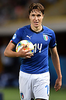 Federico Chiesa of Italy <br /> Bologna 16-06-2019 Stadio Renato Dall'Ara <br /> Football UEFA Under 21 Championship Italy 2019<br /> Group Stage - Final Tournament Group A<br /> Italy - Spain <br /> Photo Andrea Staccioli / Insidefoto