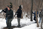 Steve Chorvas led Esopus Creek Conservancy's Annual Spring Bird Walk, through along the Saugerties Lighthouse Trail, in Saugerties, NY on Sunday, March 19, 2017. Photo by Jim Peppler. Copyright Jim Peppler 2017.