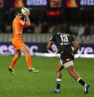 DURBAN, SOUTH AFRICA - JULY 14: Joaquin Diaz Bonilla of the Jaguares during the Super Rugby match between Cell C Sharks and Jaguares at Jonsson Kings Park on July 14, 2018 in Durban, South Africa. Photo: Steve Haag / stevehaagsports.com