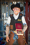 Winnemucca's Tri County Fair, Labor Day weekend..Calf riding Champeon