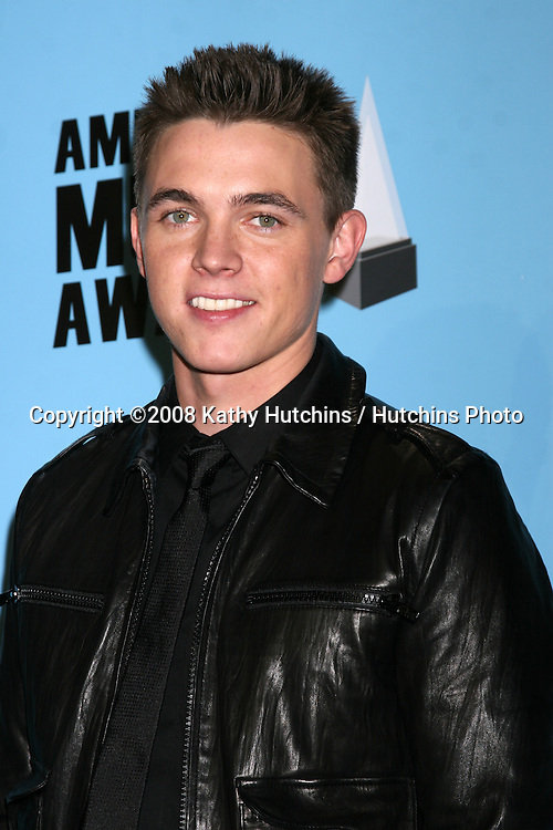 Jesse McCarthy  in the Press Room of the American Music Awards 2008 at the Nokia Theater in Los Angeles, CA.November 23, 2008.©2008 Kathy Hutchins / Hutchins Photo....