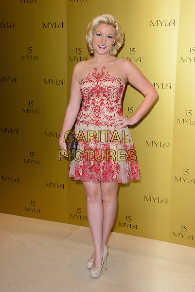 LONDON, ENGLAND - OCTOBER 21: Natalie Coyle attends Myla 15th Anniversary Celebration Party at the Odeon Myla HQ, on October 21, 2014 in London, England. <br /> CAP/CJ<br /> &copy;Chris Joseph/Capital Pictures