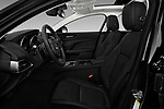 Front seat view of 2017 Jaguar XE - 4 Door Sedan Front Seat  car photos