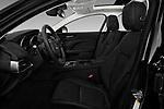 Front seat view of 2017 Jaguar XE - 4 Door Sedan Front Seat  car photos