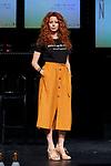 Lorena de Orte attends to 'Muerte en el Nilo' theatre play presentation at Ayala Theatre in Madrid, Spain. September 13, 2018. (ALTERPHOTOS/A. Perez Meca)
