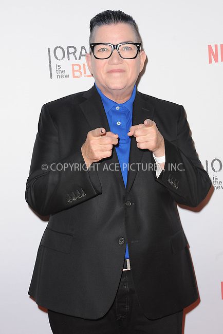 WWW.ACEPIXS.COM<br /> June 11, 2015 New York City<br /> <br /> Lea DeLaria attending the 'Orangecon' Fan Event at Skylight Clarkson SQ on June 11, 2015 in New York City.<br /> <br /> Credit : Kristin Callahan/ACE Pictures<br /> Tel: (646) 769 0430<br /> e-mail: info@acepixs.com<br /> web: http://www.acepixs.com