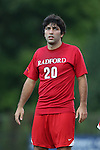19 August 2014: Radford's Mauricio Rancel (VEN). The Duke University Blue Devils hosted the Radford University Highlanders at Koskinen Stadium in Durham, NC in a 2014 NCAA Division I Men's Soccer preseason match.