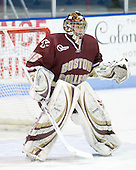 Parker Milner (BC - 35) - The Northeastern University Huskies defeated the Boston College Eagles 3-2 on Friday, February 19, 2010, at Matthews Arena in Boston, Massachusetts.