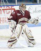 Parker Milner (BC - 35) - The Northeastern University Huskies defeated the Boston College Eagles 3-2 on Friday, February 19, 2010, at Matthews Arena in Boston, Massachusetts.