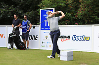 David Law (SCO) on the 11th tee during Round 1 of the Northern Ireland Open at Galgorm Castle Golf Club, Ballymena Co. Antrim. 10/08/2017<br /> Picture: Golffile | Thos Caffrey<br /> <br /> <br /> All photo usage must carry mandatory copyright credit     (&copy; Golffile | Thos Caffrey)