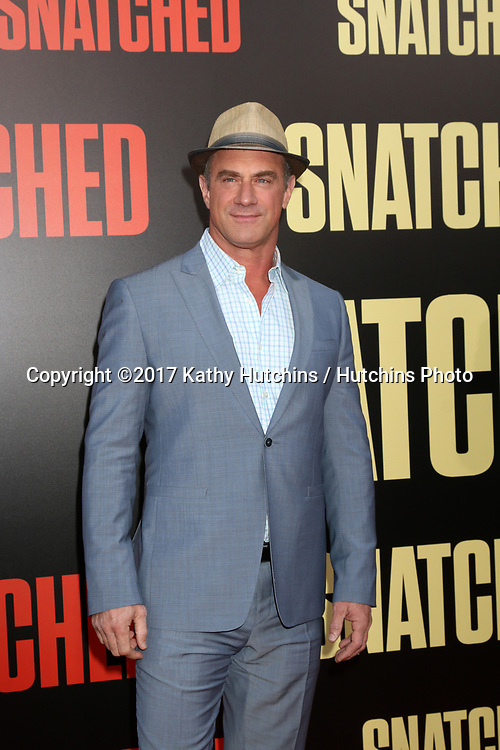 "LOS ANGELES - MAY 10:  Christopher Meloni at the ""Snatched"" World Premiere at the Village Theater on May 10, 2017 in Westwood, CA"