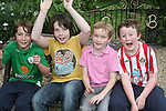 Daragh Fitzgerald, Matthew Smyth, Killian Harrison and Shane Fitzgerald at the Variety Club of Ireland Fun Day...Photo NEWSFILE/Jenny Matthews.(Photo credit should read Jenny Matthews/NEWSFILE)....This Picture has been sent you under the condtions enclosed by:.Newsfile Ltd..The Studio,.Millmount Abbey,.Drogheda,.Co Meath..Ireland..Tel: +353(0)41-9871240.Fax: +353(0)41-9871260.GSM: +353(0)86-2500958.email: pictures@newsfile.ie.www.newsfile.ie.FTP: 193.120.102.198.