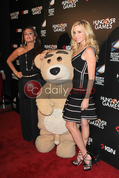 Kyle Richards, Camille Grammer<br /> at &quot;The Hungover Games&quot; Premiere, TCL Chinese 6, Hollywood, CA 02-11-14<br /> David Edwards/Dailyceleb.com 818-249-4998