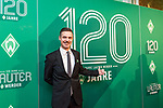 """04.02.2019, Dorint Park Hotel Bremen, Bremen, GER, 1.FBL, 120 Jahre SV Werder Bremen - Gala-Dinner<br /> <br /> im Bild<br /> Tjalf Hoyer (Frontman Band """"Afterburner"""", <br /> <br /> Der Fussballverein SV Werder Bremen feiert am heutigen 04. Februar 2019 sein 120-jähriges Bestehen. Im Park Hotel Bremen findet anläßlich des Jubiläums ein Galadinner statt. <br /> <br /> Foto © nordphoto / Ewert"""