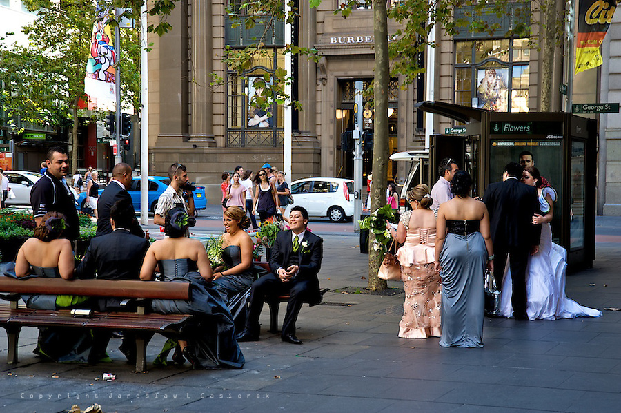Sydney CBD, Martin Place afternoon 25.02.2012