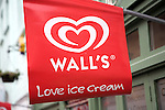 Red Wall's ice cream sign, Colchester, Essex