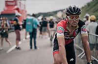 Greg Van Avermaet (BEL/BMC) rolling in at the finish<br /> <br /> 104th Tour de France 2017<br /> Stage 8 - Dole &rsaquo; Station des Rousses (187km)