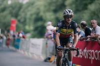 belgian champion Yves Lampaert (BEL/Quick Step Floors) up the final climb, 700 meters from the finish<br /> <br /> Stage 5: Lorient &gt; Quimper (203km)<br /> <br /> 105th Tour de France 2018<br /> &copy;kramon