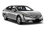 2017 Honda  Clarity Electric 5 Door Hatchback angular front stock photos of front three quarter view