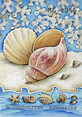 Interlitho, Theresa, MODERN, paintings, snail-shells, mussel, KL4366,#n# moderno, arte, illustrations, pinturas ,everyday