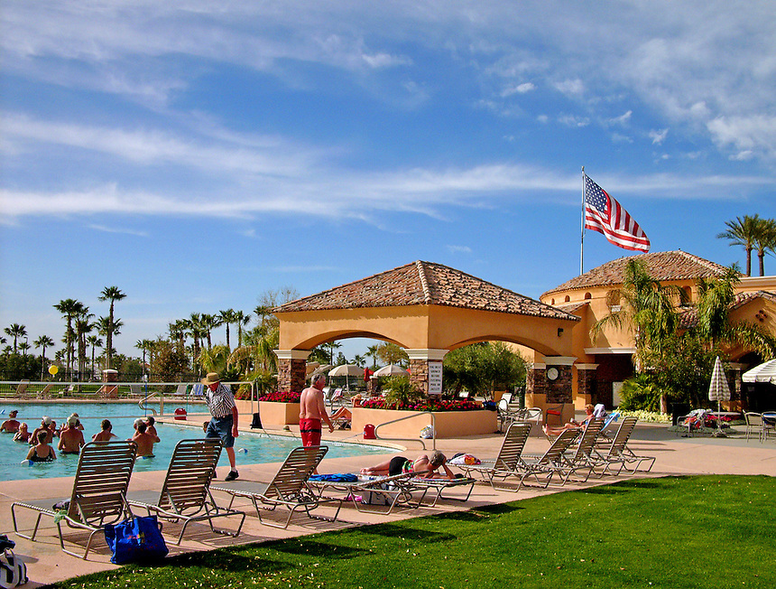 Palm Creek Golf and RV Resort. Casa Grande, Arizona. MARK TAYLOR GALLERY