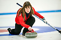 The womens Team GB Winter Olympic Curling Team 2014 :   Lauren Gray.