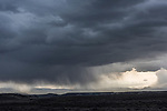 Sagebrush-steppe and storm. Alkali Draw. Sublette County, Wyoming.