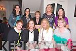 Breda Brosnan, Ballymacelligott, celebrates a special birthday with friends at Cissidy's on Saturday. Elizabeth McDaid, Ann Segal, Breda Brosnan (Birthday Girl), Carol Leen, Karen Collins, Ann Corkery, Kathleen Griffin, Teresa Lonergan, Marion Kerrisk.