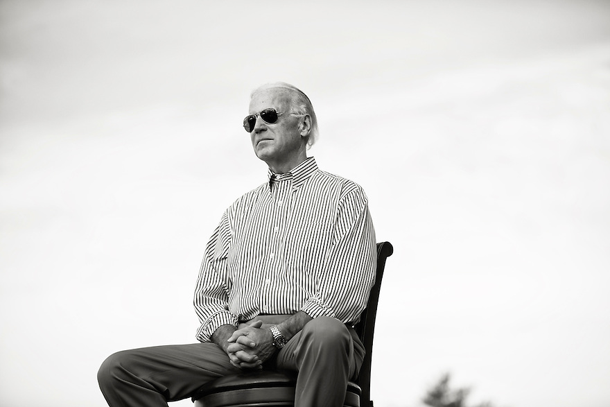 Vice President Joe Biden during a campaign rally in Dayton, Ohio