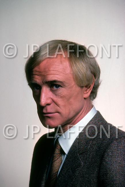 "Montreal, Quebec, Canada - November 01, 1979. Picture of Irish actor Richard Harris was taken after a rehearsal on the set of ""Your Ticket Is No Longer Valid"", directed by George Kaczender. Richard Harris (October 1, 1930 - October 25, 2002) was also a singer, producer and writer, and is best known for his role as Frank Machin in this Sporting Life and Carrado Zeller in the Red Desert."