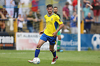 James Kaloczi of St Albans during St Albans City vs Stevenage, Friendly Match Football at Clarence Park on 13th July 2019
