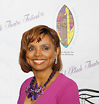 The National Black Theatre Festival with co-chair All My Children's Debbi Morgan with a week of plays, workshops and much more with an opening night gala of dinner, awards presentation followed by Black Stars of the Great White Way followed by a celebrity reception. It is an International Celebration and Reunion of Spirit. (Photo by Sue Coflin/Max Photos)