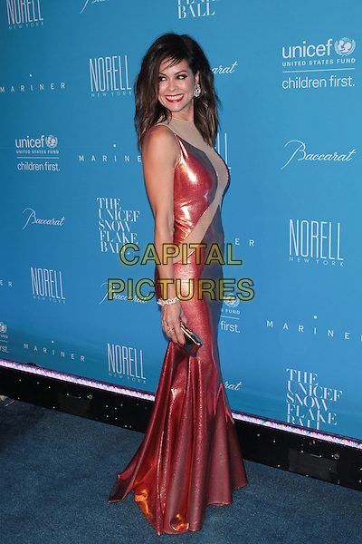 NEW YORK, NY - DECEMBER 1: Brooke Burke-Charvet at the 11th Annual UNICEF Snowflake Ball at Cipriani, Wall Street on December 1, 2015 in New York City.  <br /> CAP/MPI99<br /> &copy;MPI99/Capital Pictures